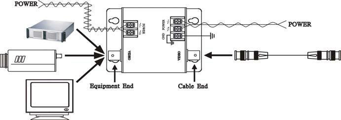 Схема подключения SP001VP