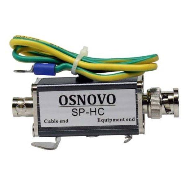 Устройство грозозащиты SC&T SP016HD цепей видео HDCVI/HDTVI/AHD на 16 каналов для кабеля витой пары