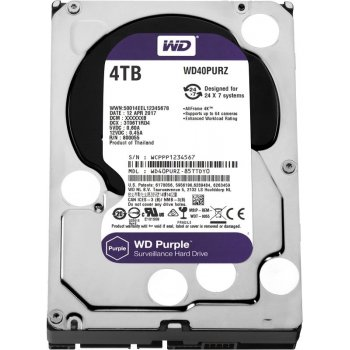Western Digital HDD 4 Tb WD40PURZ Purple