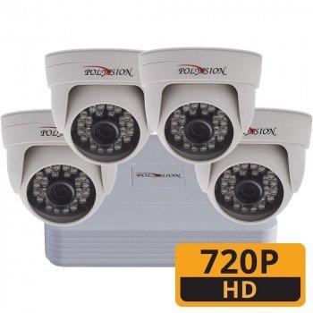 ТД Актив-СБ Комплект AHD 720p 4 внутр. для магазина