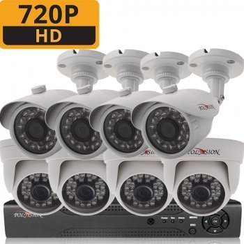 ТД Актив-СБ Комплект AHD 720p 4внутр+4внешн для дома