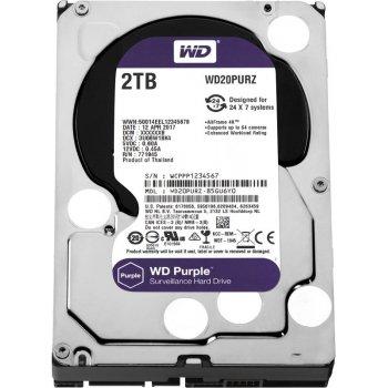 Western Digital HDD 2 Tb WD20PURZ Purple