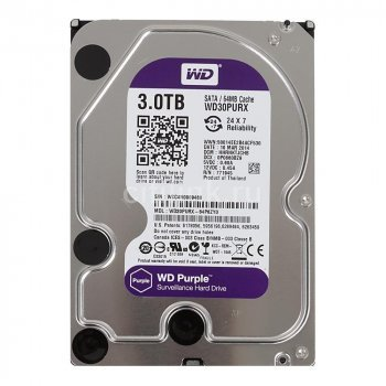 Western Digital HDD 3 TB WD30PURZ Purple