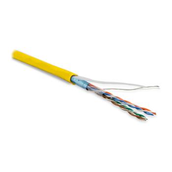 Hyperline FUTP4-C5E-P26-IN-LSZH-YL-100