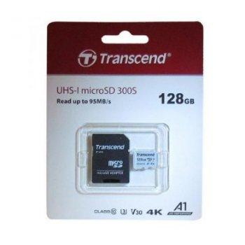 - Карта памяти microSDXC UHSI U3 128 ГБ