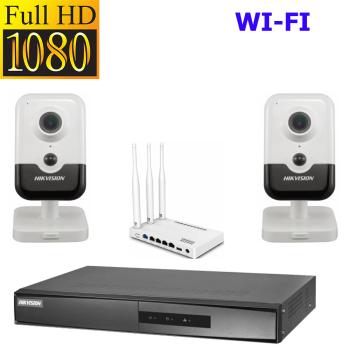 ТД Актив-СБ Комплект Wi-Fi 1080p  для квартиры вар 2