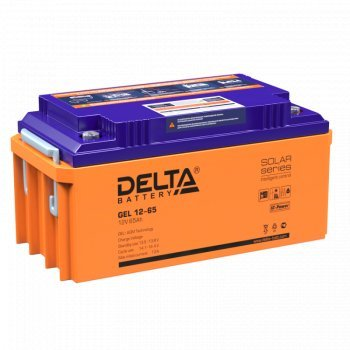 Delta АКБ-65 GEL 12-65